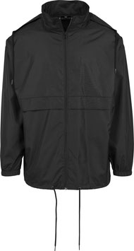 NYLON WINDBREAKER BLACK