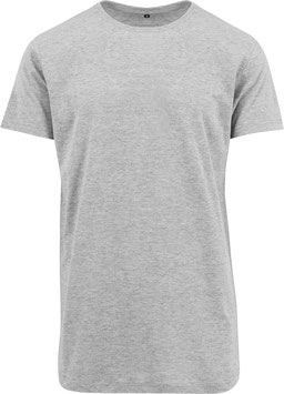 LONG TEE HEATHER GREY