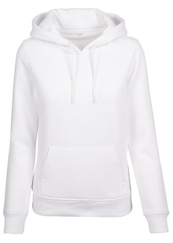 BASIC HOODY WHITE L