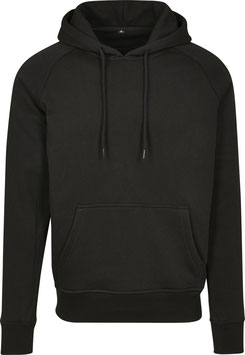RAGLAN SWEAT HOODY BLACK