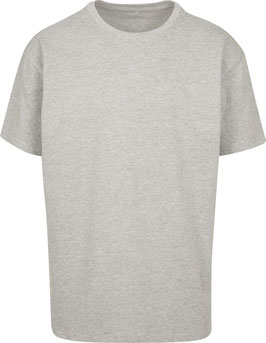 HEAVY OVERSIZE T-SHIRT HEATHER GREY