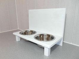 Futterbar Katze, 2 x 350 ml, weiß