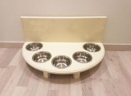 Futterbar Katze, 5 x 350 ml, hell elfenbein