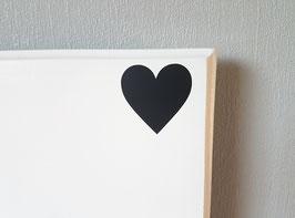 Herz, ca. 4,5 x 4,5 cm, verschiedene Farben zur Auswahl