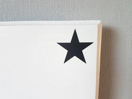 Stern,  ca. 5 x 5 cm, verschiedene Farben zur Auswahl