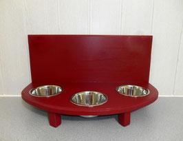Futterbar Katze, 3 x 350 ml, rot