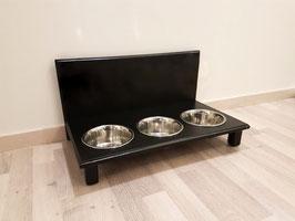 Futterbar Hund, 3 x 750 ml, schwarz