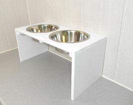 Futterbar Hund, 2 x 2400 ml, weiß