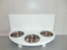 Futterbar Katze, 3 x 350 ml, weiß
