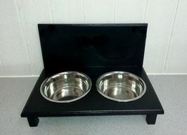 Futterbar Hund, 2 x 1500 ml, schwarz