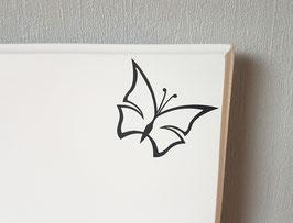 Schmetterling,  ca. 6 x 5 cm, verschiedene Farben zur Auswahl