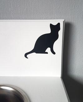 Katze Nr. 4,  ca.13 x 13 cm, verschiedene Farben zur Auswahl