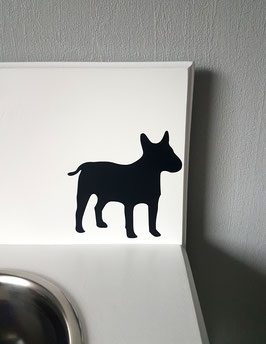 Hund groß Nr. 3,  ca. 13 x 13 cm, verschiedene Farben zur Auswahl
