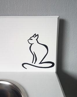 Katze Nr. 7,  ca. 13 x 14 cm, verschiedene Farben zur Auswahl