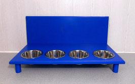 Futterbar Katze, 4 x 350 ml, blau