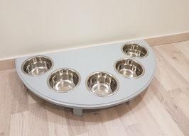 Futterbar Katze, 5 x 350 ml, lichtgrau