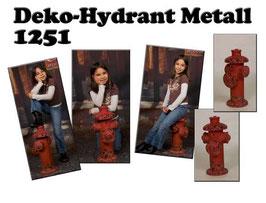 Deko-Hydrant Metall