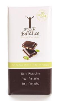 TABLETTE DE CHOCOLAT NOIR ET PISTACHE 85g