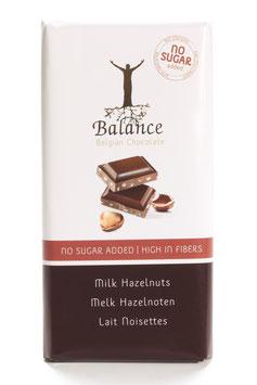 TABLETTE DE CHOCOLAT AU LAIT NOISETTES 100g