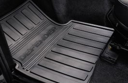 JEU DE TAPIS AVANT DE PROTECTION LAND ROVER DEFENDER