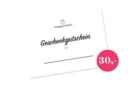 Gutschein '30 €'