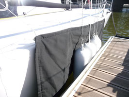 Housse de protection de coque textile