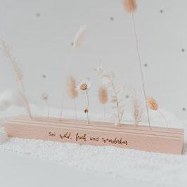 Eulenschnitt - Großer Karten- Blumenständer 25cm - Wild & Frech