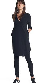 PENN & INK - Basic Kleid Vera - Dunkelblau