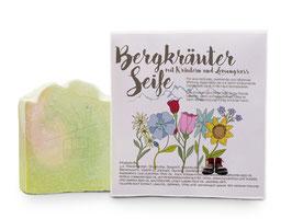 Sophie Plus - Natur Seife Bergkräuter - Kräuter und Lemongrass