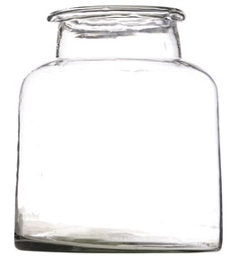 Madam Stoltz - hohe Glas Vase groß - 22x26