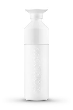 DOPPER - INSULATED 580 ML - ISOLIERFLASCHE Wavy White