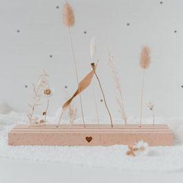 Eulenschnitt - Großer Karten- und Trockenblumenständer  25cm - Herz