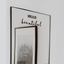 Eulenschnitt - Sticker Hello Beautiful