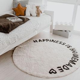 Eulenschnitt - Runder Teppich Happiness 140cm