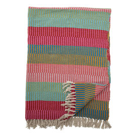 Bloomingville - Decke Recycled / Isnel Throw - Multicolor