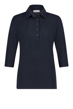 PENN&INK N.Y. - Basic Bluse Lux - Navy