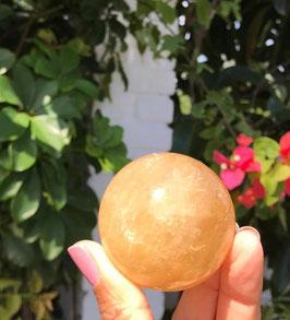 Esfera en citrino