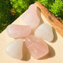 5 Cuarzos rosa naturales