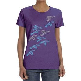"Dames T-shirt ""Ravens"""