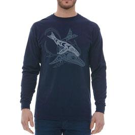 "Longsleeve T-shirt ""Humpback Whales"""