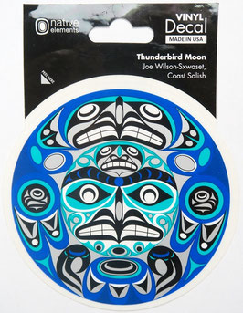 "Sticker ""Thunderbird Moon"""