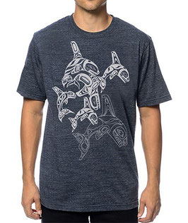 "T-shirt ""Orca Family"""