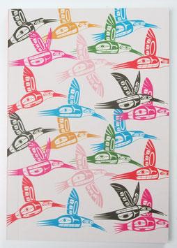 """Notitieboekje """"Hummingbirds"""""""