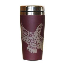 "Travel mug ""Eagle's First Flight"""