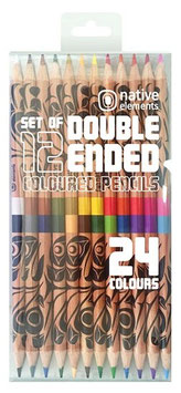 12 dubbelzijdige kleurpotloden
