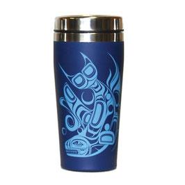 "Travel mug ""Orca"""