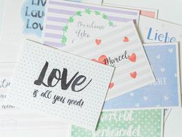 Postkartenset -Hochzeitsüberraschung- individualisierbar