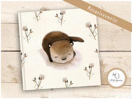 Blankobuch Otter Mängelexemplar