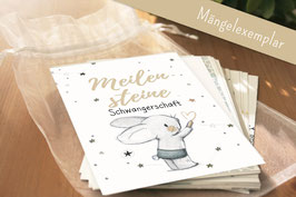 Meilensteinkarten Schwangerschaft (Mängelexemplar)