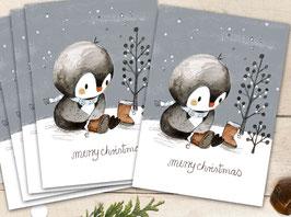 """Weihnachtskarten """"Winterwald"""""""